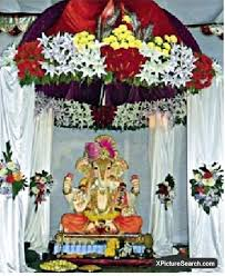artificial flower decoration ideas for ganpati best flowers and