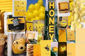 cool pastel yellow aesthetic desktop