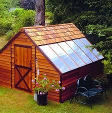 cedar garden shed. Sunhouse Cedar Wood Storage Shed And Greenhouse Combo Kit Garden