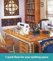 7 quick fixes for your quilting space. This is a GREAT guide ... & 7 quick fixes for your quilting space. This is a GREAT guide! #crafting Adamdwight.com