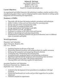 Resume For Lab Technician Amazing 48 Free Lab Technician Resume Samples Sample Resumes