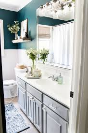 Our Painted Sink Countertop Tub Shower 8 Months Later