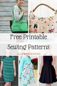 Free Sewing Patterns For Beginners Classy 48 Free Printable Sewing Patterns AllFreeSewing