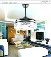 retractable ceiling fans ceiling fan with blades ceiling fan warm light round led ceiling fan with
