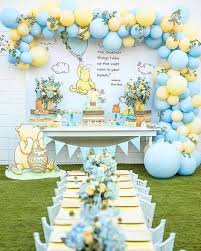 Pin by Ida Rice on Party ideas | Baby shower decorations neutral, Disney  baby shower, Baby shower decorations for boys