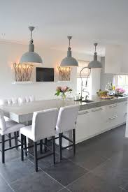 contemporary kitchen lighting. contemporary kitchen with soft grey metal shaded pendant light fixtures lighting i