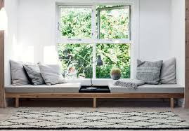 window seat furniture. Furniture:Swedish Home Design Feat Window Seat With Reading Sofa Bed And Pillows Swedish Furniture