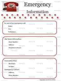 Babysitter Information Sheets Babysitter Information Sheets Template Business
