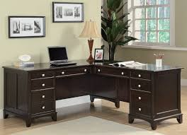 l shaped desk home office. Simple Home Garson Home Office L Shaped Desk From Coaster 801011L801011R  Coleman  Furniture With Z