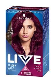 Schwarzkopf Live Color Xxl Luminance L76 Ultra Violet Hair Colour
