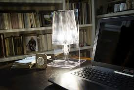 Lampada Da Tavolo Take Trasparente