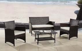 outdoor chairs and tables. Kailua 4PC Modern Rattan Outdoor Set Chairs And Tables I
