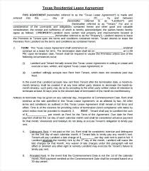Residential Lease Agreement Template Word – Mklaw
