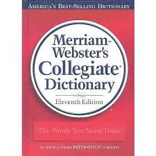 Merriam Webster S Collegiate Dictionary Staples