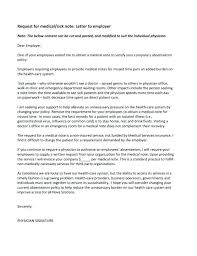Doctors Note Template Letter To Employer From Doctor Gp