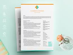 Resume Template 2 Page Cv Template By Resume Templates On