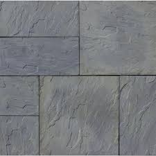 patio stones texture. Nantucket Pavers Patio-on-a-Pallet 12 In. X 24 And In., 48 Sq. Ft. Concrete Gray Basketweave York-Stone Paver-30531 - The Home Depot Patio Stones Texture N