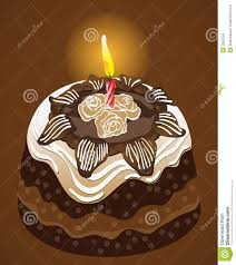 beautiful happy birthday chocolate cake with candles. Interesting Candles Birthday Party Chocolate Cake With Candle Vector Inside Beautiful Happy Chocolate Cake With Candles