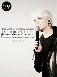 Citation Damour Citation Kpop Jonghyun