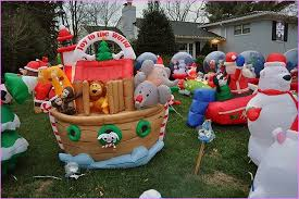 inflatable christmas lawn decorations extraordinary grinch yard home design ideas 1