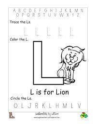 Letter L Preschool Worksheets Free Worksheets Library Download