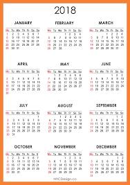 2018 calendar printable weekly calendar template