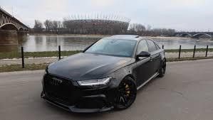 black audi. Delighful Audi The Black RS6 Sedan That Audi Never Built Has 600 HP With