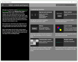 Learn About The Samples For Universal Windows Platform