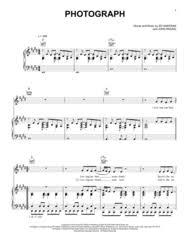ed sheeran sheet music download photograph sheet music by ed sheeran sheet music plus
