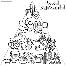 Coloring Pages Of Food Pyramid To Download And Print Best Page 988