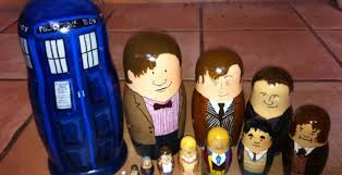 diy doctor who nesting dolls set perhaps best gift so far