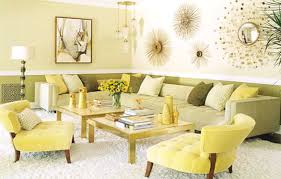 Yellow Living Room Decor Creative Yellow Living Room Decor On House Design Ideas With