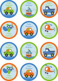 Free Printable Cars Cupcake Toppers Judahs 2nd Birthday Car