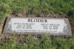 Doyle William Bloder (1930-2012) - Find A Grave Memorial