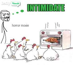 Intimidate (or Intimidation) Meaning in Hindi with Picture via Relatably.com