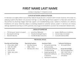 Ideas Of Linux System Administration Sample Resume Senior System