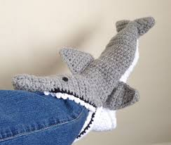 Crochet Shark Slippers Pattern Free Delectable 48 Free Patterns For Crochet Shark Slippers Guide Patterns