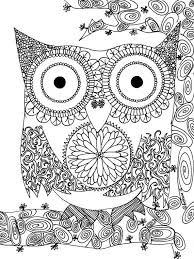 13 Owl Lineart Colorable For Free Download On Ayoqqorg