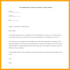 Gym Cancellation Letter Template Cancellation Email Template