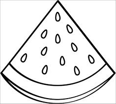 Tổng Hợp Các Bức Tranh Tô Màu Quả Dưa Hấu Cho Bé Tập Tô, Tranh Tô Màu Trái  Cây, Hoa Quả