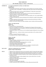 Examples Of Public Relations Resumes Public Affairs Resume Magdalene Project Org
