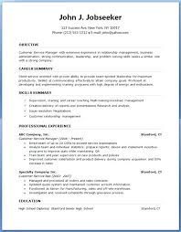 Download Resume Template Resume Formats For Experienced Free