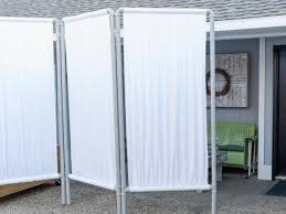 outdoor privacy screen from pvc pipe