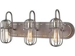 elk lighting industrial cage weathered
