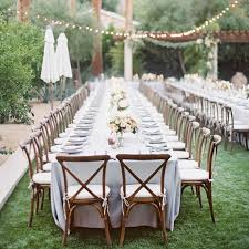 23 beautiful banquet style tables for