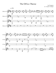 The Office Theme Sheet Music For French Horn Download Free