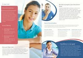 College Templates College Bi Fold Brochure Template