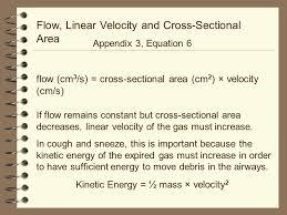 78 flow linear velocity
