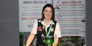 Valerie Maloney from Laois remains Intermediate Billiards Number 1 for the  3rd Season in a Row | Republic of Ireland Ladies Snooker Association