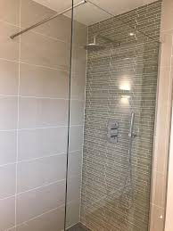 shower wall glass panel